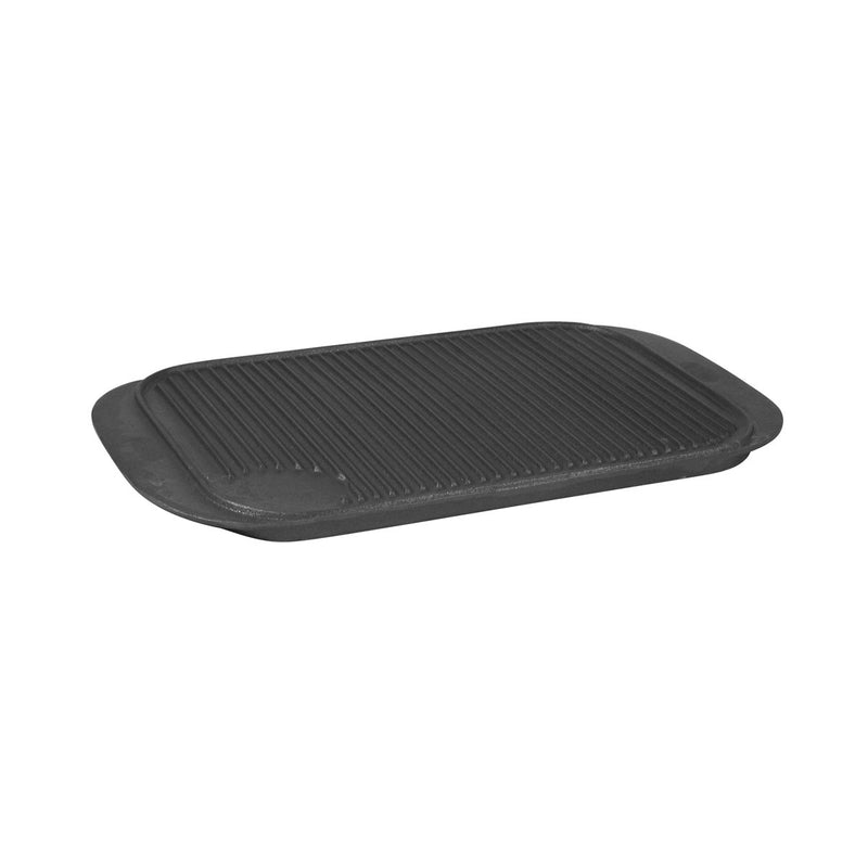 41010-TR Reversible Griddle 475x260mm Cast Iron Chemworks Hospitality Supplies Canberra