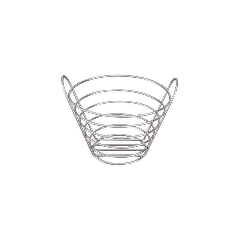 41830-TR Display Baskets Round Basket 200x130mm Chemworks Hospitality Canberra
