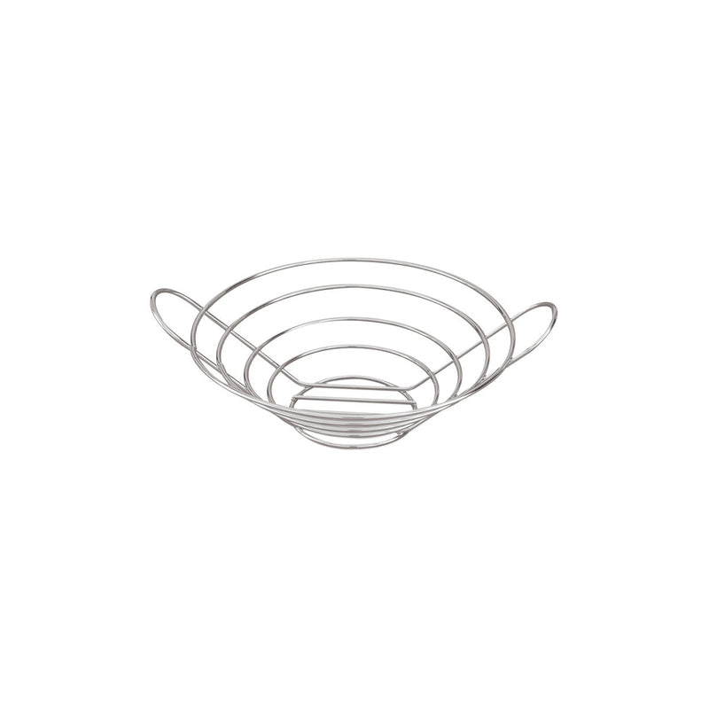 41831-TR Display Baskets Round Basket 245x80mm Chemworks Hospitality Canberra