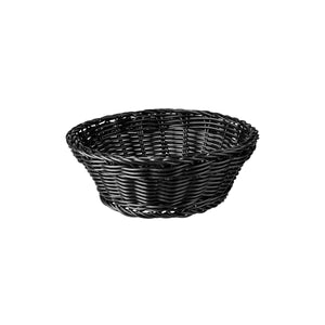 41880-BK-TR Display Baskets Round Display Basket 205x70mm Chemworks Hospitality Canberra
