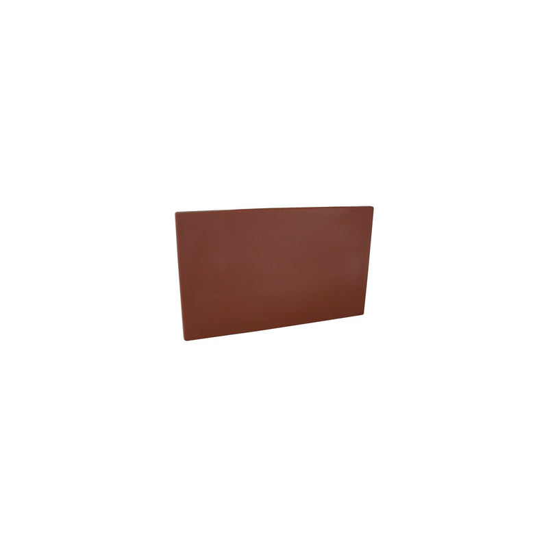 48015-BN-TR Cutting Board 13mm Chemworks Hospitality Thick | Brown 205x300mm Chemworks Hospitality