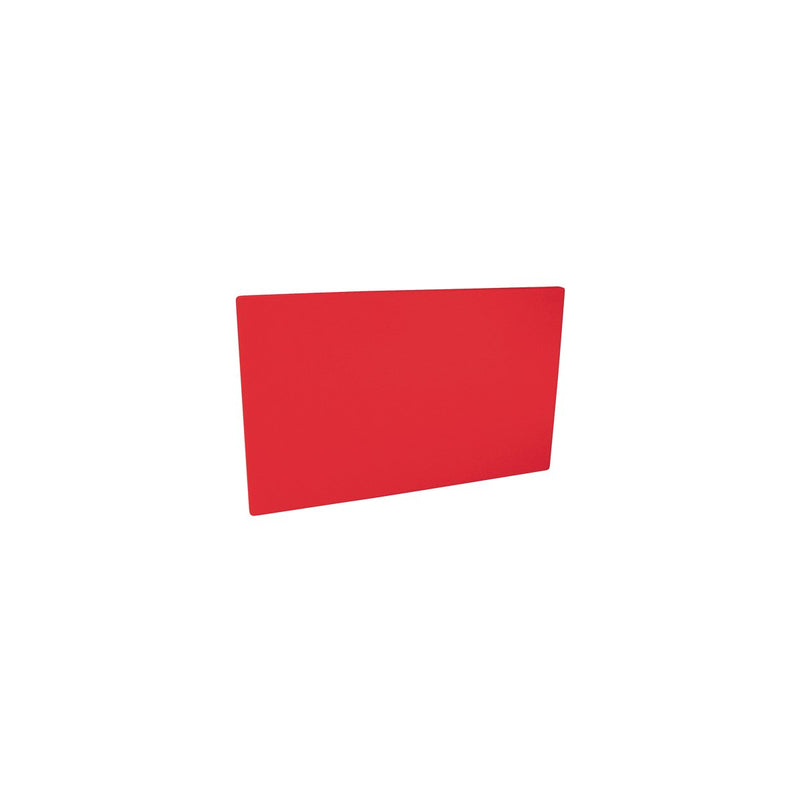 48019-R-TR Cutting Board 13mm Chemworks Hospitality Thick | Red 250x400mm Chemworks Hospitality