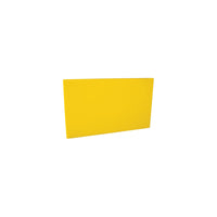 48019-Y-TR Cutting Board 13mm Chemworks Hospitality Thick | Yellow 250x400mm Chemworks Hospitality