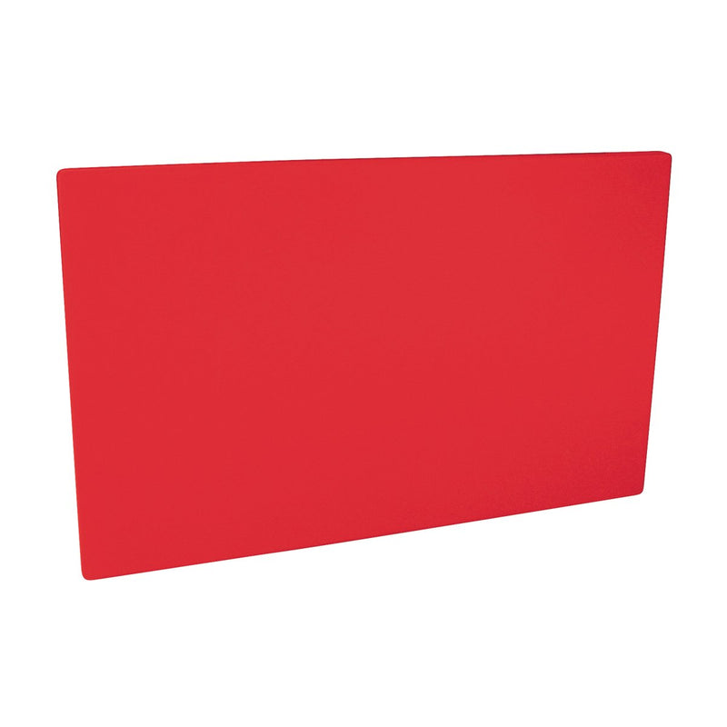 48030-R-TR Cutting Board 20mm Chemworks Hospitality Thick | Red 530x325mm Chemworks Hospitality