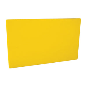 48030-Y-TR Cutting Board 20mm Chemworks Hospitality Thick | Yellow 530x325mm Chemworks Hospitality