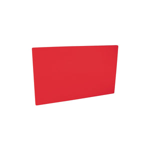 48042-R-TR Cutting Board 19mm Chemworks Hospitality Thick | Red 380x510mm Chemworks Hospitality