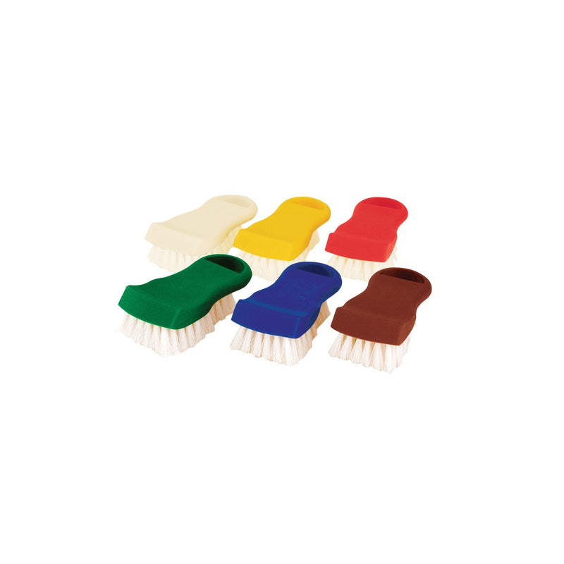 48050-Y Colour Coded Brush Nylon Bristles - Yellow Chemworks Hospitality