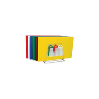 48081-TR Colour Coded System Including Boards, Tongs, Brushes & Rack 250x400x13mm Chemworks Hospitality