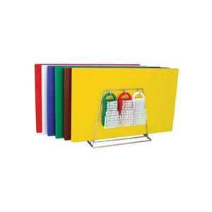 48083-TR Colour Coded System Including Boards, Tongs, Brushes & Rack 380x510x13mm Chemworks Hospitality