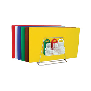 48084-TR Colour Coded System Including Boards, Tongs, Brushes & Rack 450x600x13mm Chemworks Hospitality