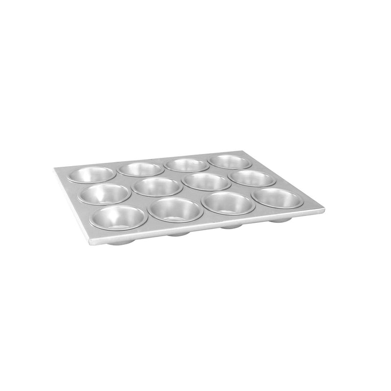 52162-TR Muffin Pan Aluminium | Non-Stick Capacity Per Cup: 104ml 12 Cup Chemworks Hospitality