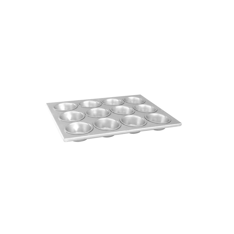 52174-TR Muffin Pan Aluminium | Non-Stick Capacity Per Cup: 104ml 24 Cup Chemworks Hospitality