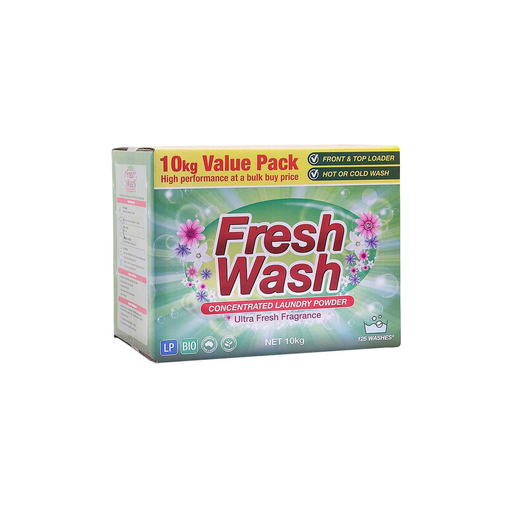 53335 Fresh Wash Concentrated Laundry Powder Chemworks Hospitality Canberra