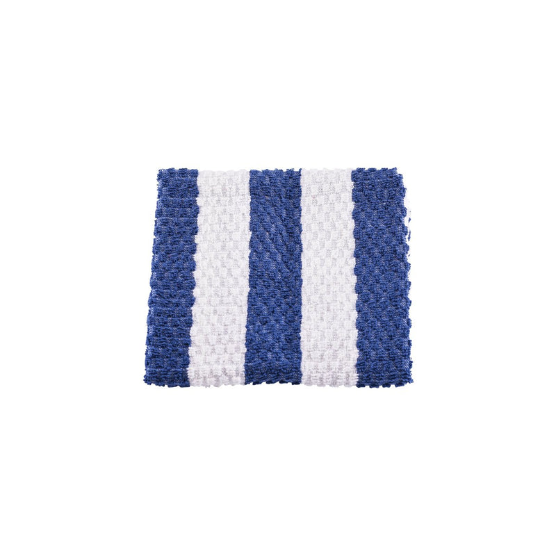 5STS-BL Bar Towel 100% Cotton Blue & White Stripe