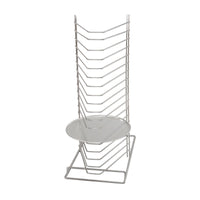 66000-TR Pizza Rack Chrome Plated, Holds 18 Trays | Bench Model Chemworks Hospitality