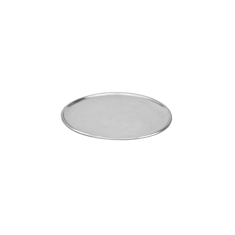 "66309-TR Pizza Plate Aluminium | Regular Coupe 230mm/9"" Chemworks Hospitality"