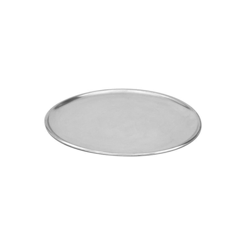 "66313-TR Pizza Plate Aluminium | Regular Coupe 330mm/13"" Chemworks Hospitality"