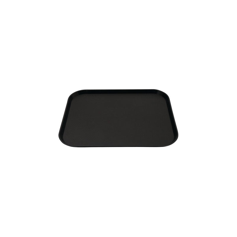 69016-BK-TR Fast Food Tray Polypropylene Black 300x400mm