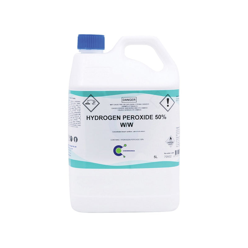 70506 Hydrogen Peroxide 50% Chemworks Hospitality Canberra