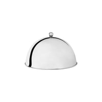 70750 Trenton Metalware Dome Cover / Cloche 18/8 Stainless Steel With Knob 255x160mm Chemworks Hospitality Canberra