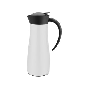 71211-T Chef Inox Sleek Vacuum Jug Stainless Steel | White 1000ml