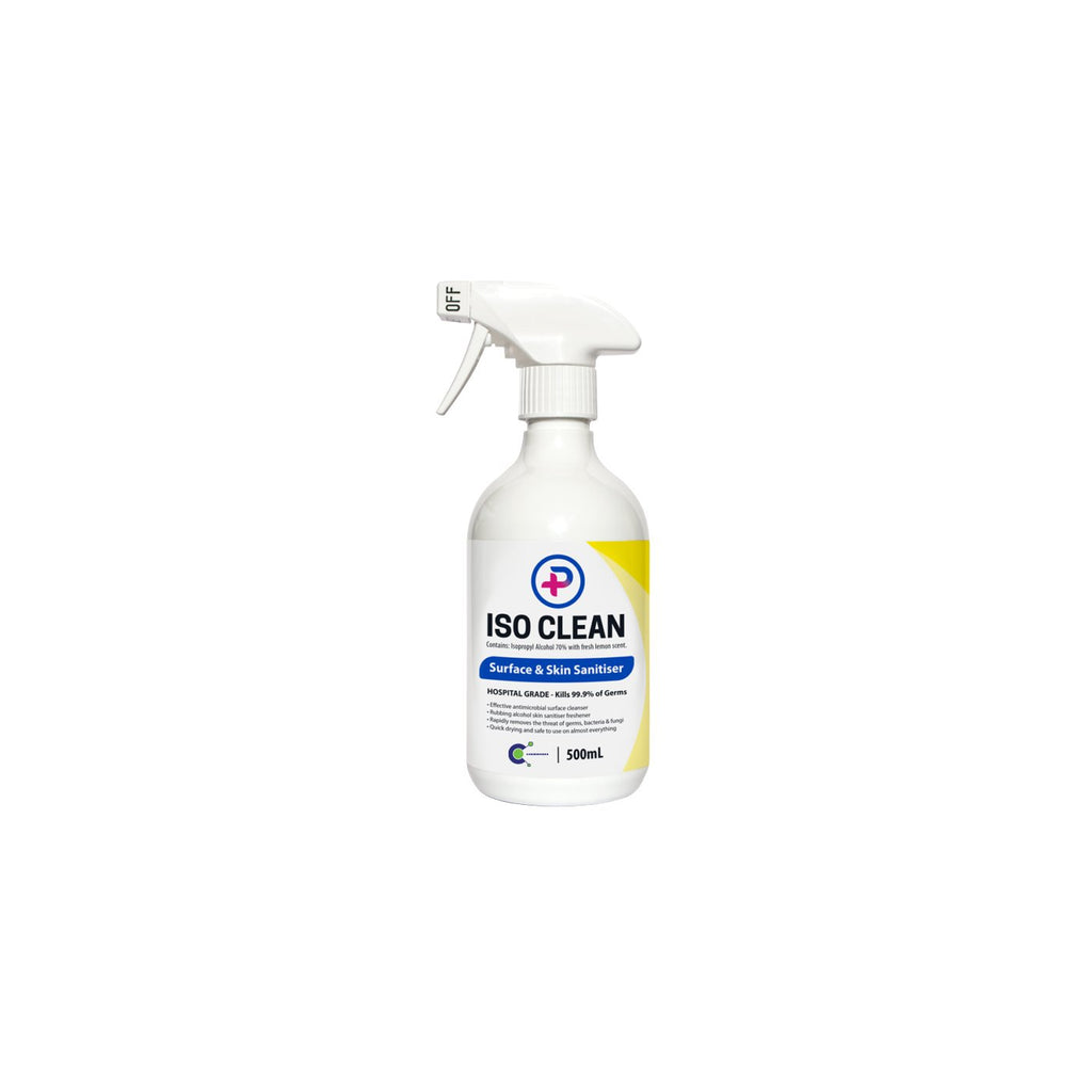 742-500 ISO Clean Surface & Skin Sanitiser Chemworks Hospitality Canberra