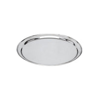 76130-TR Round Tray / Platter 18/8 Stainless Steel | Heavy Duty | Rolled Edge 300mm