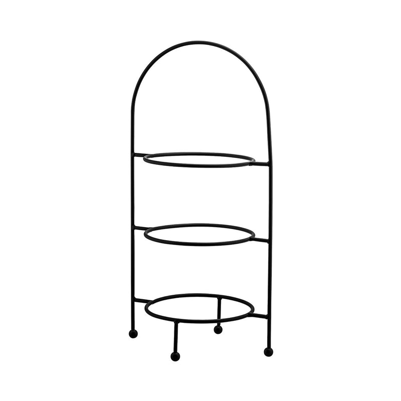 76271-BK-TR Round Display Stand - 3 Tier Black Ring Measurement: 220mm 620mm