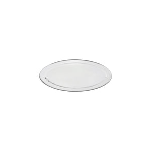 76308-TR Oval Platter 18/8 Stainless Steel | Heavy Duty | Rolled Edge 200mm
