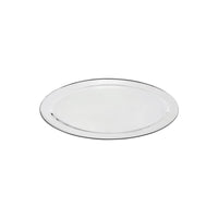 76316-TR Oval Platter 18/8 Stainless Steel | Heavy Duty | Rolled Edge 400mm