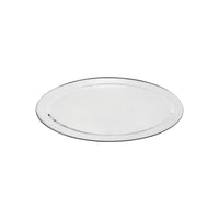 76318-TR Oval Platter 18/8 Stainless Steel | Heavy Duty | Rolled Edge 450mm