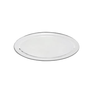 76320-TR Oval Platter 18/8 Stainless Steel | Heavy Duty | Rolled Edge 500mm