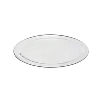 76322-TR Oval Platter 18/8 Stainless Steel | Heavy Duty | Rolled Edge 550mm