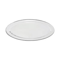 76326-TR Oval Platter 18/8 Stainless Steel | Heavy Duty | Rolled Edge 650mm