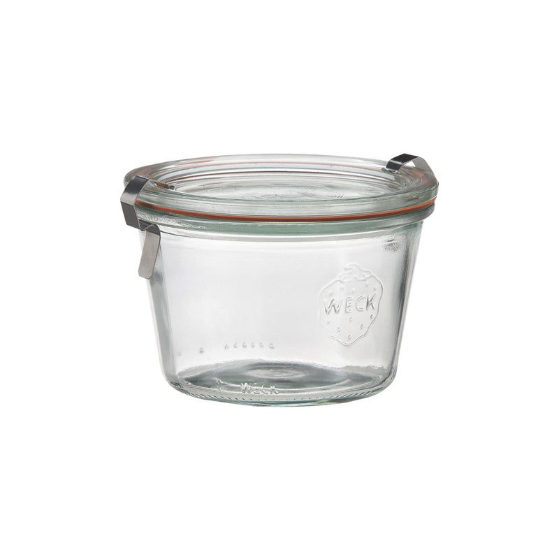 82310-T Weck Jar With Lid - Glass With Rubber Seal 80ml