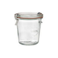 82312-T Weck Jar With Lid - Glass With Rubber Seal 140ml