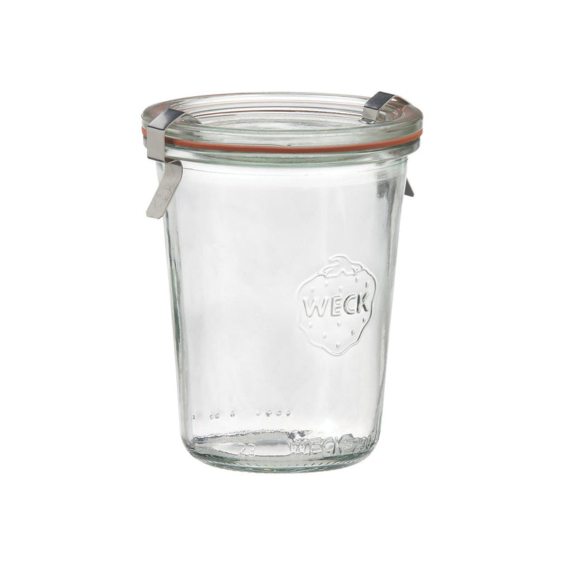 82314-T Weck Jar With Lid - Glass With Rubber Seal 160ml