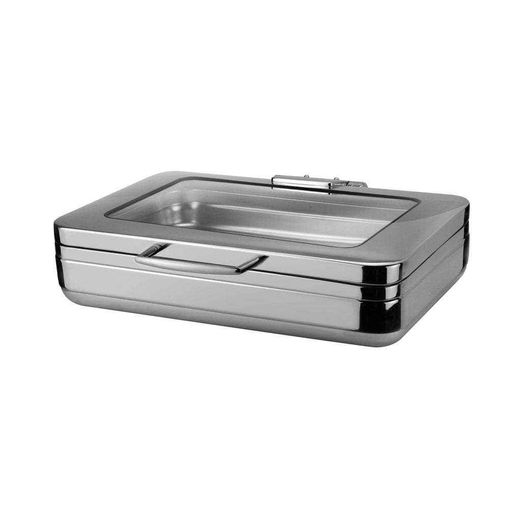 8311103-TR Athena Prince Induction Chafing Dishes Prince 1/1 Size Induction Chafer 600x490x150mm Chemworks Hospitality Canberra