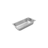 885306-TR 1/3 Size Anti-Jam Steam Pan Stainless Steel 6.2Ltr Chemworks Hospitality