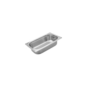 885406-TR 1/4 Size Anti-Jam Steam Pan Stainless Steel 4.5Ltr Chemworks Hospitality