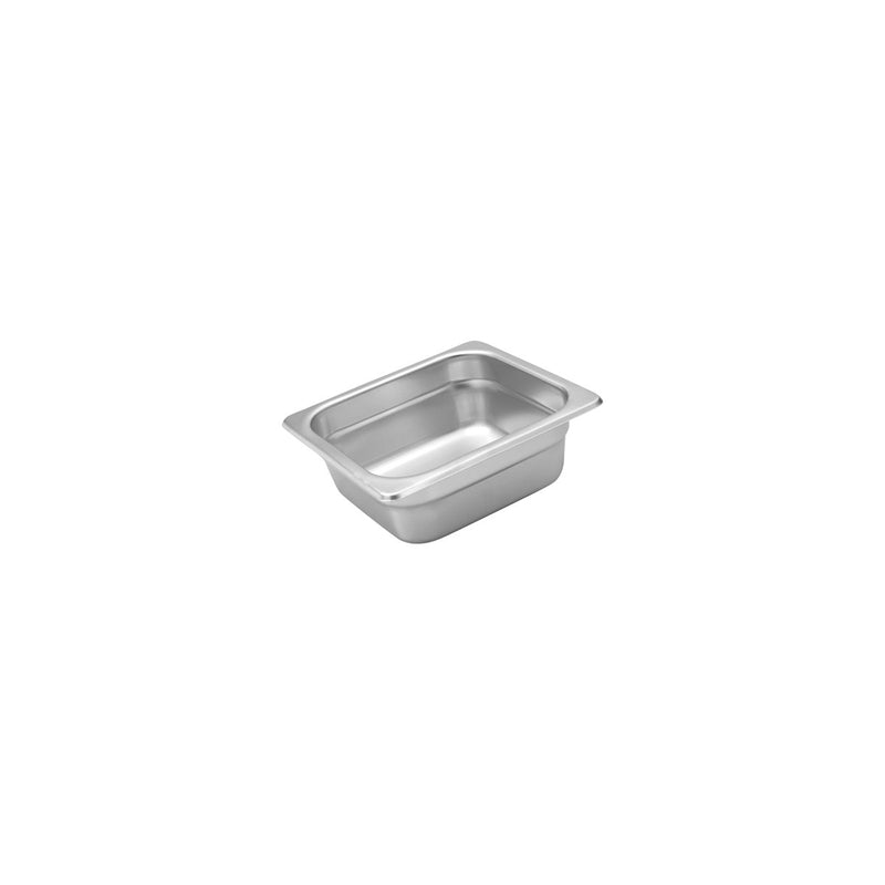 885606-TR 1/6 Size Anti-Jam Steam Pan Stainless Steel 2.8Ltr Chemworks Hospitality
