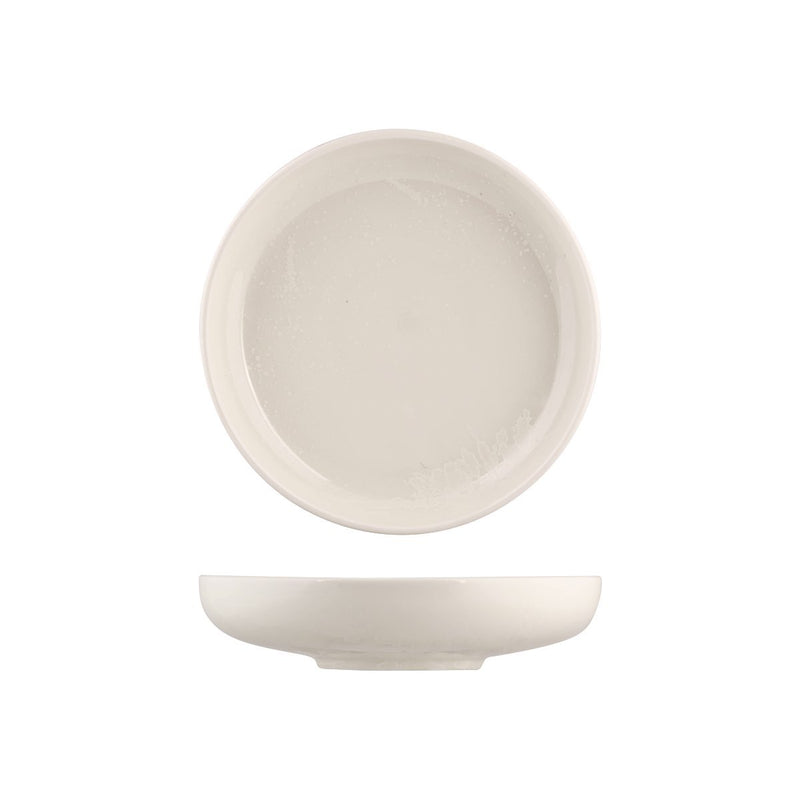 926558 Moda Porcelain Snow Round Share Bowl 215mm / 1220ml Chemworks Hospitality Canberra
