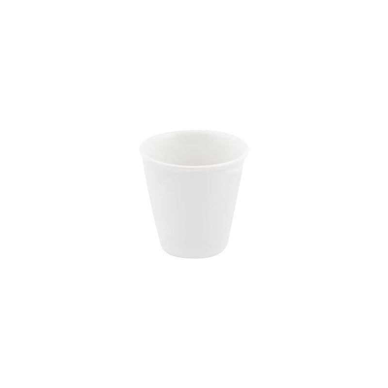 978001 Bevande Bianco Forma Espresso Cup 90ml Chemworks Hospitality Canberra