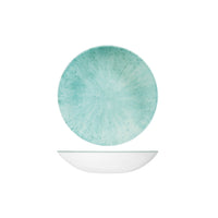 9974618-AQ Studio Prints Stone Aquamarine Round Coupe Bowl 182mm / 426ml Chemworks Hospitality Canberra