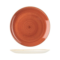 9975129-O Stonecast Spiced Orange Round Coupe Plate 288mm Chemworks Hospitality Canberra