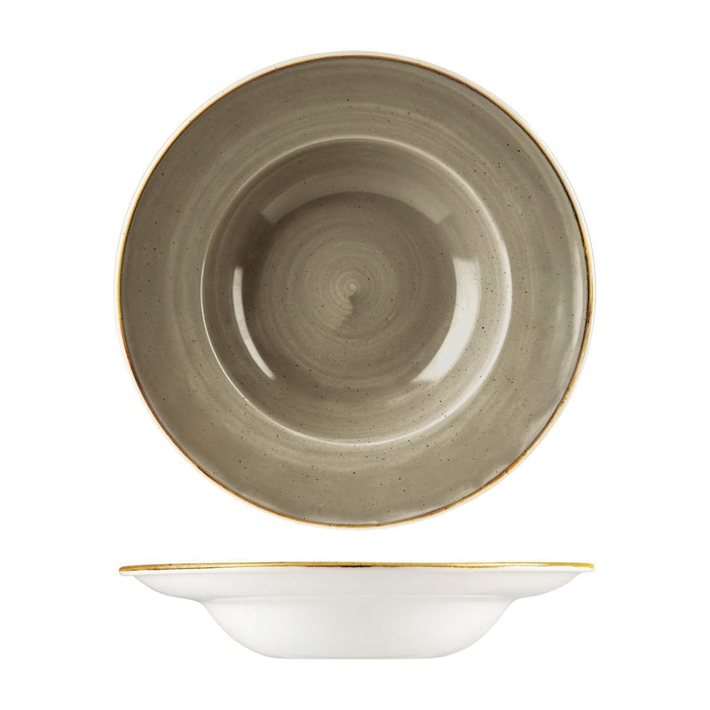 9975428-P Stonecast Peppercorn Grey Soup / Pasta Bowl 280mm / 468ml Chemworks Hospitality Canberra