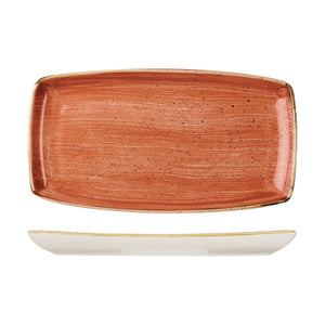 9975535-O Stonecast Spiced Orange Oblong Plate 350x185mm Chemworks Hospitality Canberra
