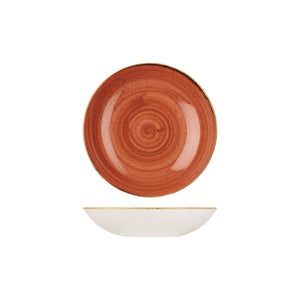 9975618-O Stonecast Spiced Orange Round Coupe Bowl 182mm / 426ml Chemworks Hospitality Canberra