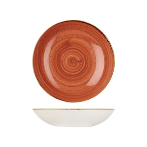 9975625-O Stonecast Spiced Orange Round Coupe Bowl 248mm / 1136ml Chemworks Hospitality Canberra