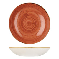 9975631-O Stonecast Spiced Orange Round Coupe Bowl 310mm / 2400ml Chemworks Hospitality Canberra